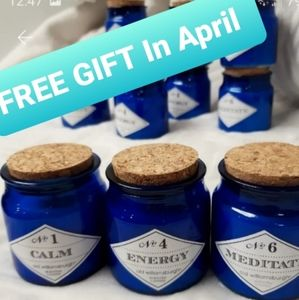 Free Gift In April 1 Relax Candle